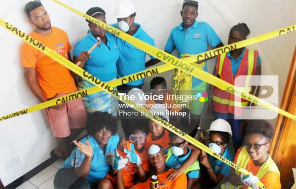 """Image: Safety first"""" was the catchphrase when the group held its recent training workshop. [PHOTO: Stan Bishop]"""