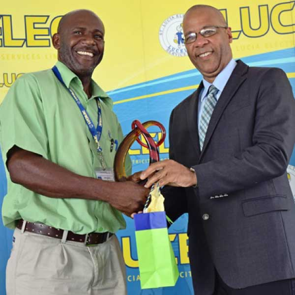 Image: Technical Supervisor of the Year Michael Ambrose