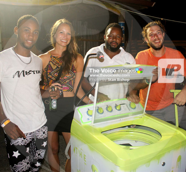 img: Despite all its spin, this washing machine cooler was just cool enough for the runner-up position.