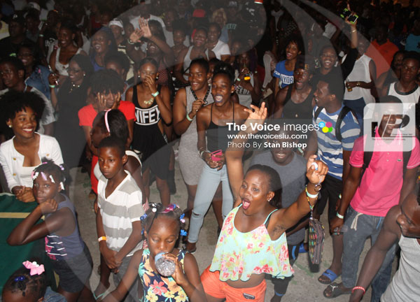 img:Never underestimate a fun crowd in Dennery.