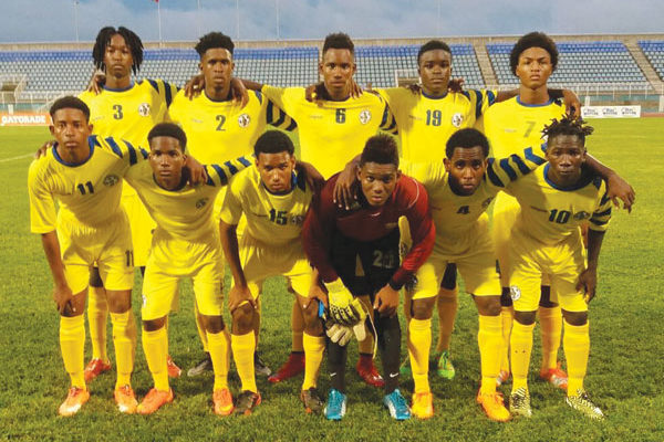 img:Team St. Lucia qualify for second round (Photo SLFA)