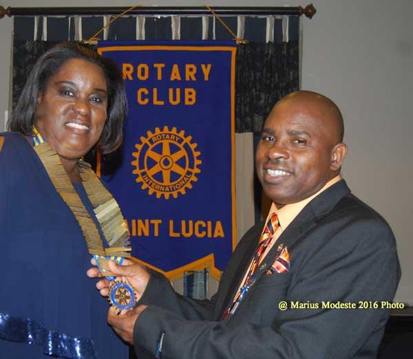 img: Selma St. Prix takes over Rotary
