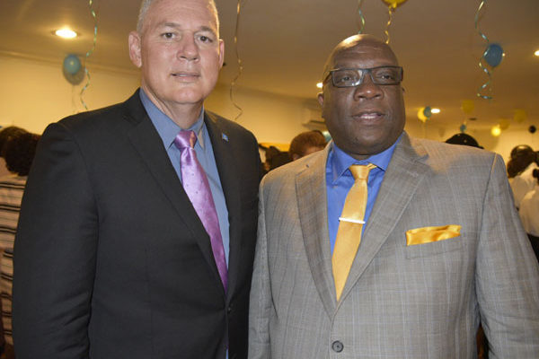 img:Prime Ministers Chastanet and Harris