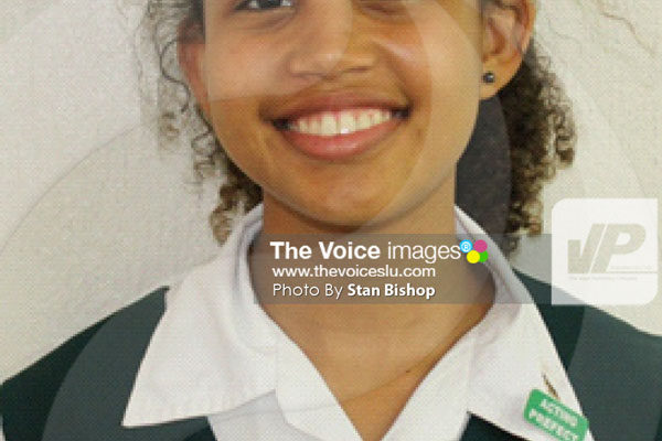 img:Top achiever, Zanaii Taylor. [PHOTO: Stan Bishop]