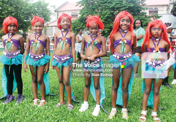 Image: These Motion Studios girls were some of Sunday's beautiful stars.