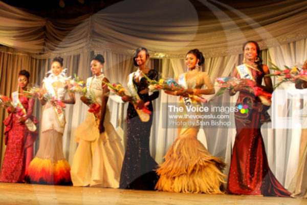 img: The eight contestants all gave good accounts of themselves at Saturday's pageant. [PHOTO: Stan Bishop]