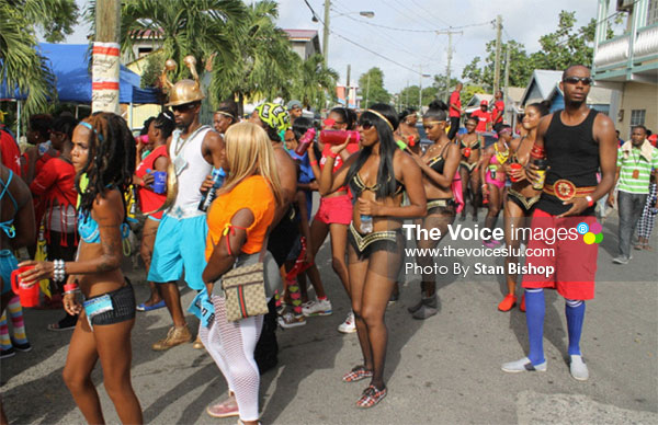 Image: Three years ago, Gros Islet Carnival generated some positive buzz. [PHOTO: Stan Bishop]