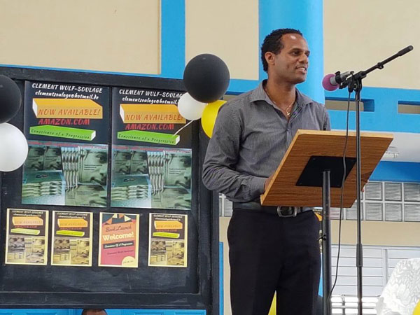 img: Wulf Soulage speaking at the launch