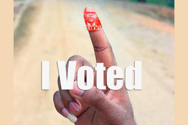 Vote buying illustration