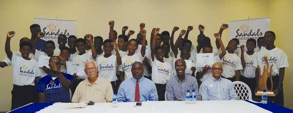 Image: Three Cheers for Sandals Cricket Academy (Photo Anthony De Beauville)