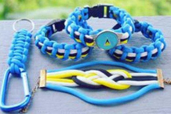 Image of Cadette's Survivor Bracelets.