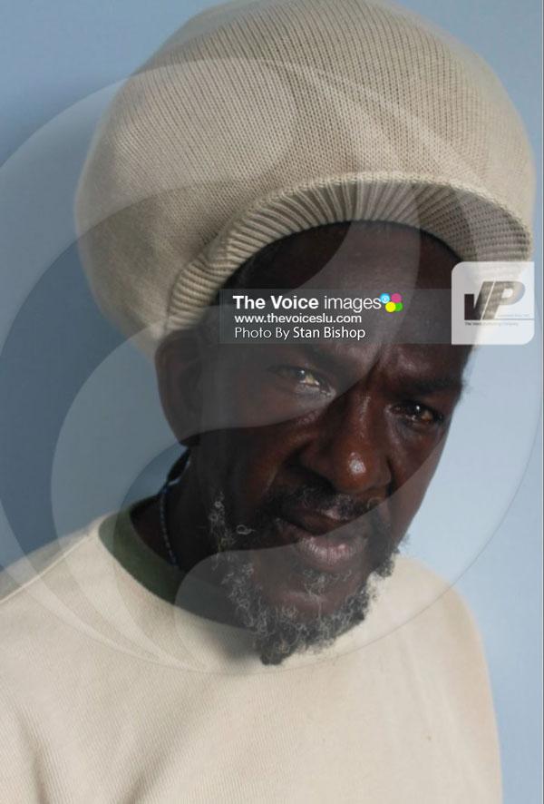 "Veteran calypsonian, Cyril ""Get Through"" Felix. [PHOTO: Stan Bishop]"