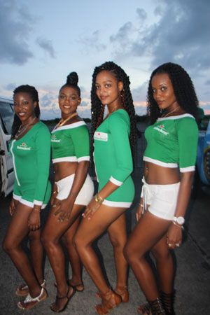 img: The Heineken Green Synergy ladies at the semifinals in Vieux Fort.