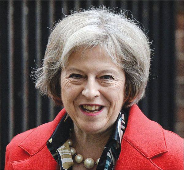 Image of Theresa May