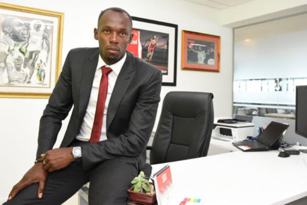 img: Digicel's CSO and lifetime ambassador, Usain Bolt, makes himself at home.
