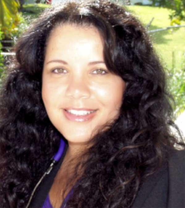 Image: Regina Posvar, President of the St. Lucia Alzheimer's Association