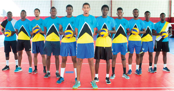 IMG: Team Saint Lucia in Mexico (PHOTO SLVF)