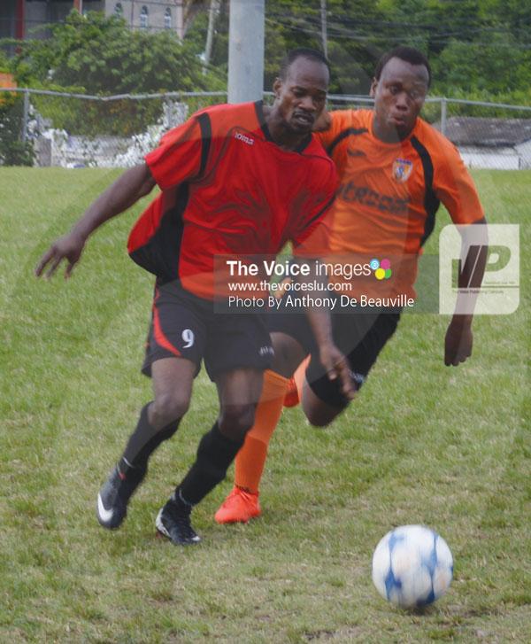 IMG: Decorsey Simon scored the winner for VSADC (Photo Anthony De Beauville)
