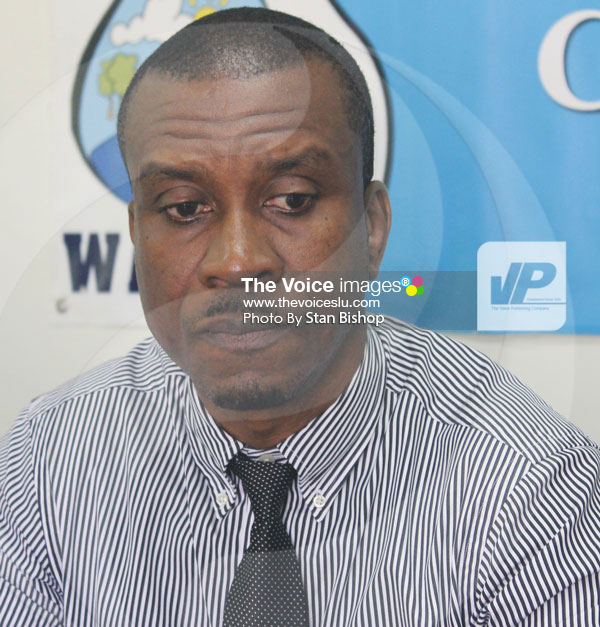 IMG: WASCO Managing Director, Vincent Hippolyte. [PHOTO: Stan Bishop]