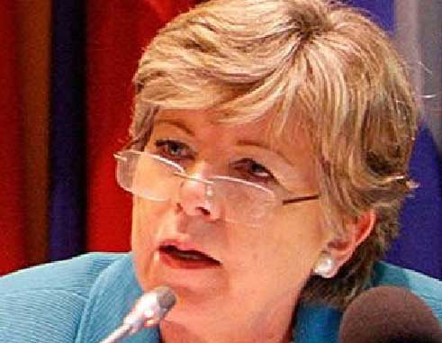 Image: Executive secretary of the Economic Commission for Latin America and the Caribbean (ECLAC) Alicia Bárcena