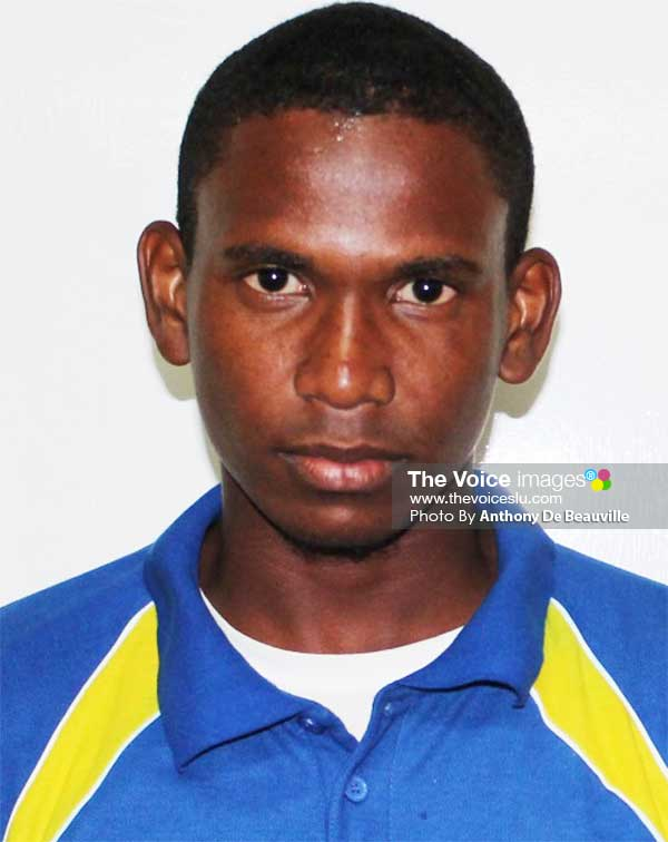 Image: MVP of the Tournament Vince Smith (Choiseul).  (Photo: Anthony De Beauville)