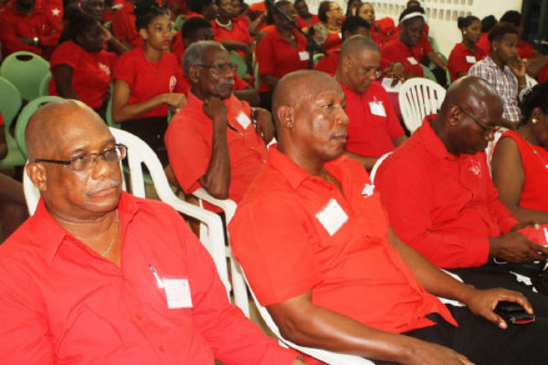 Many delegates expressed their frustrations at being left behind by the party. [PHOTO: Stan Bishop]