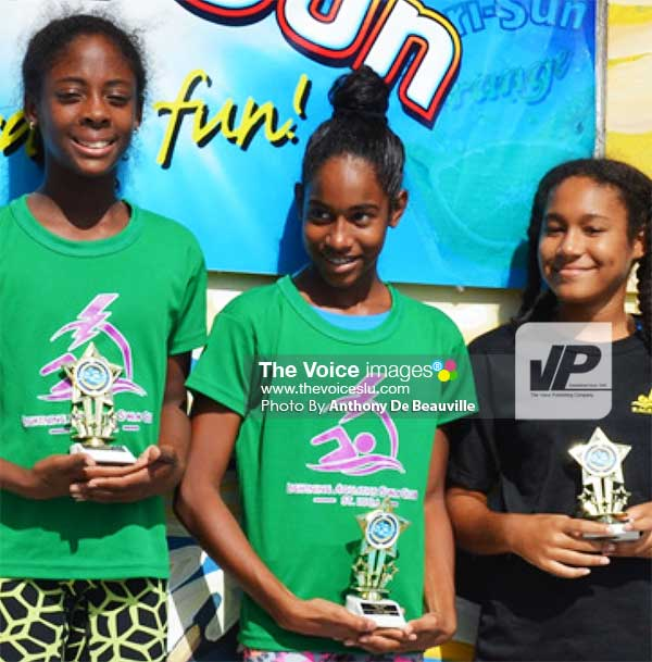 Image: (L-R) Naekeisha Louis, Naima Hazell, JorjaMederick. (PHOTO: Anthony De Beauville)
