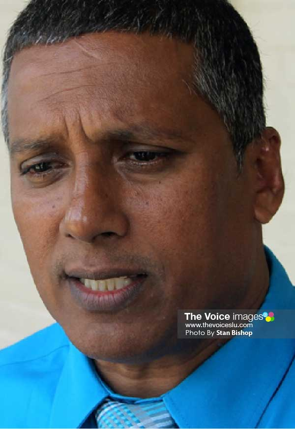 Image: Minister for Economic Development, Guy Joseph. [PHOTO: Stan Bishop]