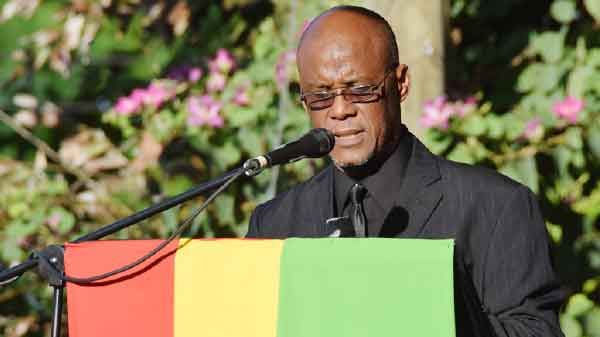 Image: Castries Mayor Peterson Francis says Reparations events should also be held beyond the confines of the City, as there are still so many questions that people will want answered across the island about why CARICOM Governments are seeking atonement from Europe. (PHOTO: NTN/GIS – Richmond Felix)