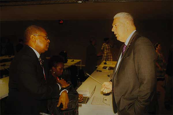 SAINT LUCIA'S former Minister for Sustainable Development, Energy, Science and Technology, Dr. James Fletcher