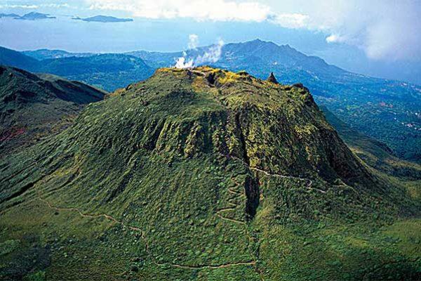 Image: La Grande Soufriere, Guadeloupe