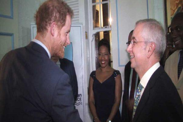 Image: Prince Harry meets John Kennedy