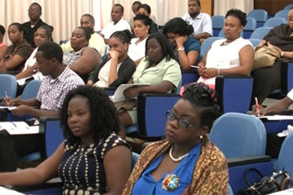 Image: Some of the participants at the workshop.