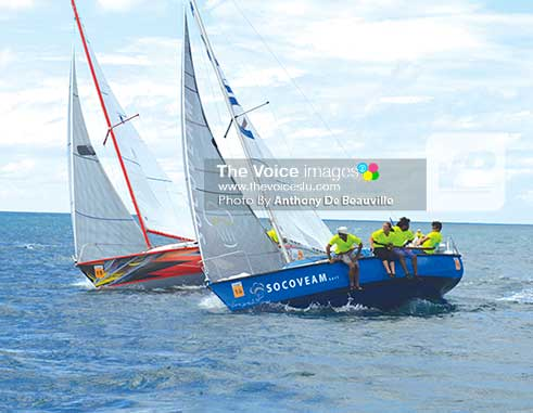 Image: Another epic finish in the J24s. (Photo: Anthony De Beauville)