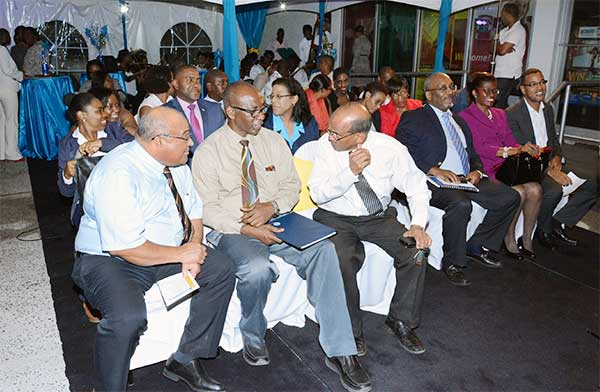 Image: Guests at the launching.