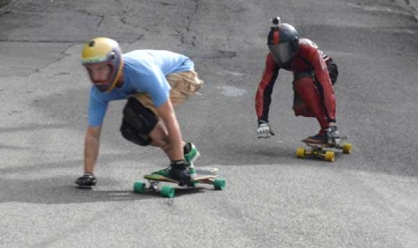 Image: Hot wheels heading to the finish line (Photo: Anthony De Beauville)