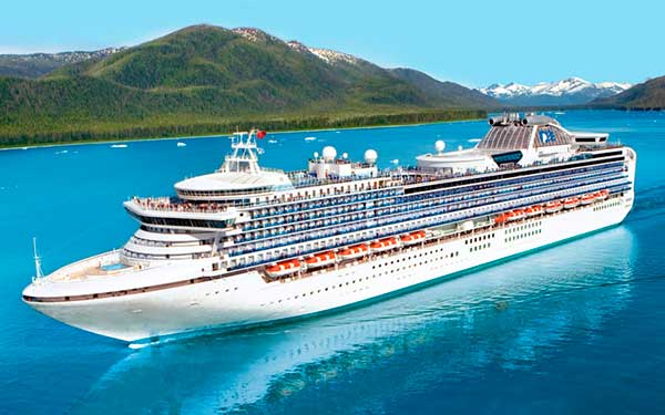 Image: One of the ships of Princess Cruise Lines