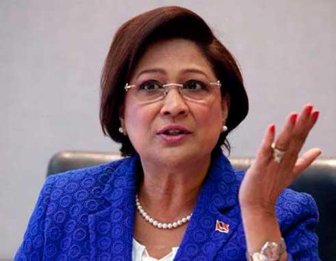 Image of Persad-Bissessar