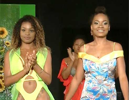 Image: Some of the models who took part in the show