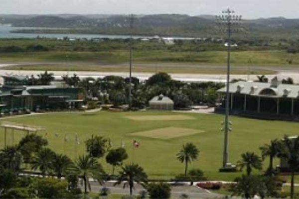 Image: Sticky wicket ground