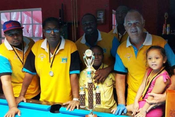 Image: Team Saint Lucia champions for the second time. (Photo: SLPA)