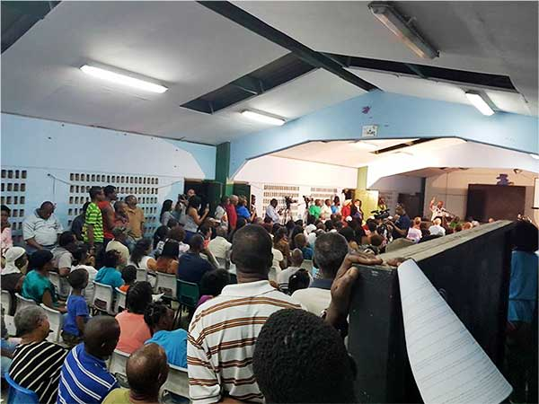 Image: Some of those who attended the Primary School meeting.
