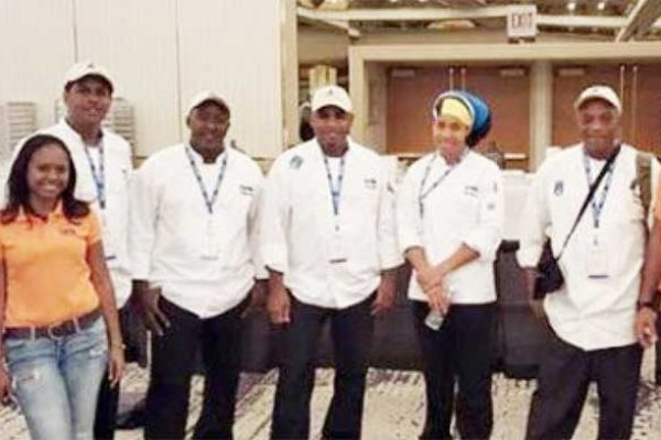 Image: The St. Lucia team to the 2016 competition.