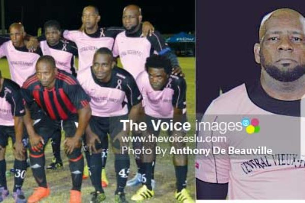 Image: (L-R) Central Vieux Fort and Captain Alwyn Harris.(Photo: Anthony De Beauville)