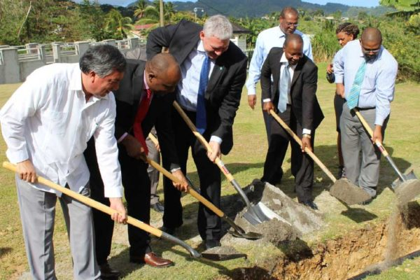 Image: Ceremonial sod turning. [PHOTO: By PhotoMike]