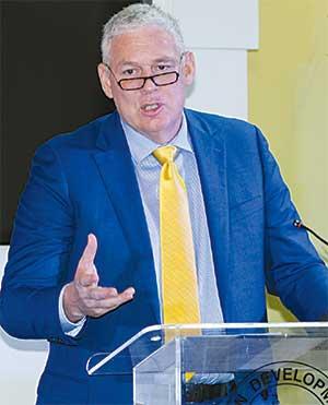 Image of Prime Minister Allen Chastanet
