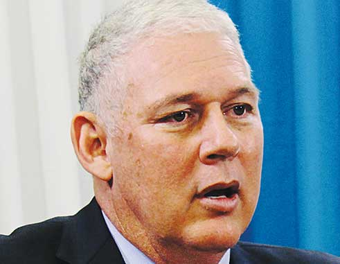 Image of Prime Minister Allen Chastanet's