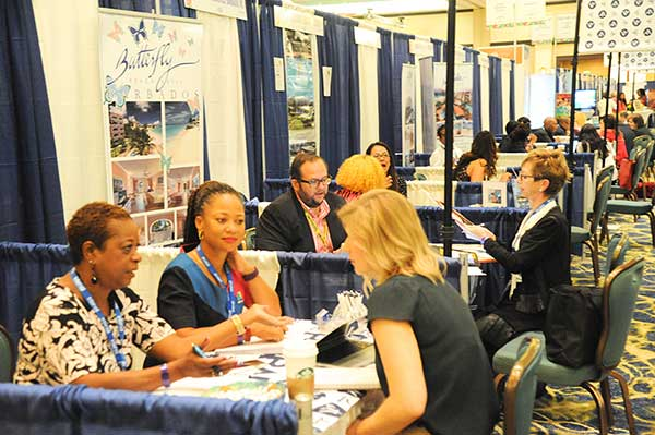 Image: Participants at Caribbean Marketplace in the Bahamas