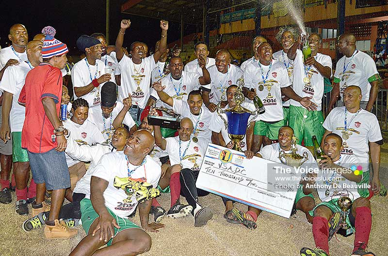Image: VSADC celebrate after their victory. (Photo: Anthony De Beauville)