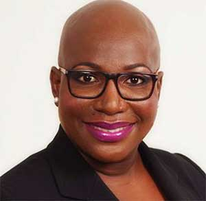 Image of Sustainable Development Minister, Dr. Gale Rigobert